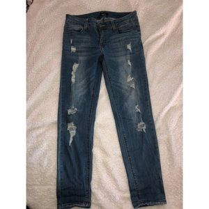 RUE 21 mid rise jegging sz.8